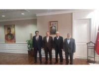 Başkan Yalçın'ın, Sağlık Bakan Yardımcısı Eldemir'e hayırlı olsun ziyareti