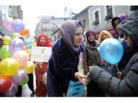 Trabzon'daki çocuklara Dünya Çocuk Günü'nde sürpriz