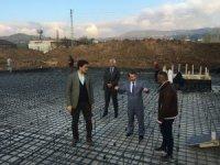 Yayladağı'nda 16 derslikli okulun inşasına başlandı