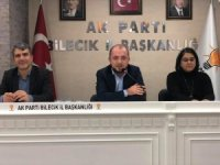 AK Parti Bilecik Teşkilat Toplantısı yapıldı