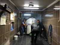 Büyükşehir'den Aliağa'ya 5 tonluk süt soğutma tankı