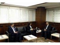 Sağlık Bakan Yardımcısı Prof. Dr. Meşe, Büyükşehir Belediyesini ziyaret etti