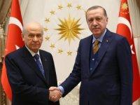 Erdoğan ile Bahçeli'nin kritik görüşmesi başladı!