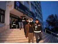 Denizli'de suç örgütüne yönelik operasyona 5 tutuklama