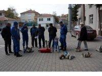 Damlama sulama malzemesi hırsızları tutuklandı