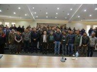 Niğde Belediyesi Personelinden Başkan Özkan'a destek