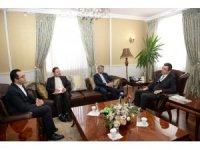 İran İslam Cumhuriyeti Başkonsolosu Dr. Sajad Soltanzadeh Erzurum Valisi Okay Memiş'i ziyaret etti