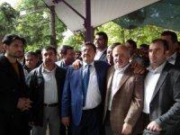 Ali Bakan seçim çalışmalarını Ankara'da sürdürüyor