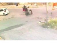 Engelli aracıyla metrelerce sürüklendi, çarpan sürücü yardım etmek yerine kaçıp gitti