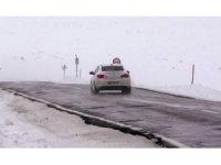 Ardahan'da ulaşıma tipi ve sis engeli
