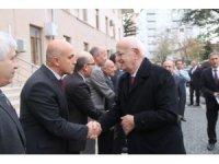 Eski TBMM Başkanı İsmail Kahraman'dan Vali Çiftçi'ye ziyaret
