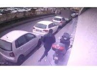 Şişli'deki silahlı saldırganların kaçma anı kamerada