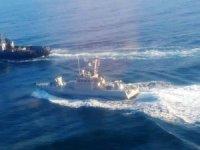 Rusya savaş gemilerimize ateş açtı