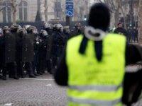 'Sarı Yelekliler' yeniden sokaklara çıktı
