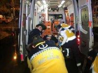 Beyoğlu'nda trafik kazası; 2 yaralı