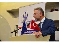 Avrupa Birliği Türkiye Çalışma Grubu Toplantısı katılımcıları yemekte bir araya geldi