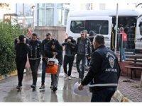 Antalya'daki 'Guten morgen' operasyonu: 15 tutuklama