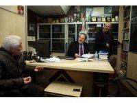Vali Pehlivan yerel basın kuruluşlarını ziyaret etti
