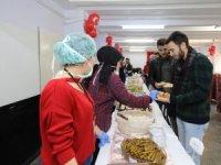 Kayseri Üniversitesi Meslek Yüksekokulunda kermes düzenlendi