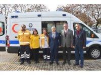 Salihli Belediyesi'nden hasta nakil ambulansı hizmeti