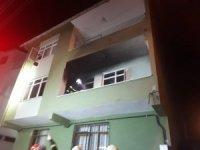 Elektrikli sobadan çıkan yangın evi kullanılamaz hale getirdi