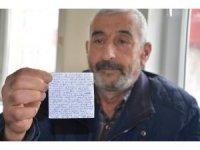 Kansere yenik düşen askerin son mektubu ortaya çıktı