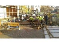 Gebze'de yol çalışmaları devam ediyor