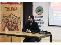 Kültür Sanat Etkinlikleri Yer Kızıl adlı söyleşi ve imza günü ile devam etti