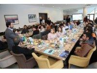 Başkan Yazgı projelerini üniversite öğrencilerine anlattı