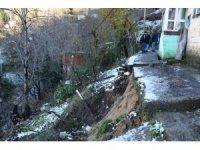Zonguldak'ta 11 ev heyelan riski nedeniyle boşaltılıyor