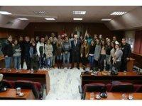 Dünyanın farklı yerlerinden öğrenciler Odunpazarı'nda buluştu