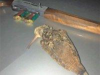 Kaçak avlanan avcıya ceza yağdı