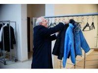"""Uşak'ta """"Askıda Giysi"""" projesi"""