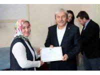 İstanbul Ticaret Üniversitesi hocalarına sertifikaları verildi