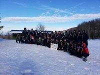 İzmit Belediyesporlu izciler kış kampında
