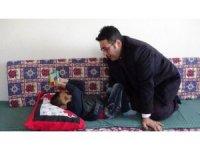 Görme engelli öğrenciye evde eğitim