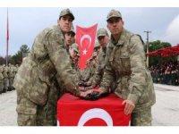 Burdur'da 4. dönem bedelli askerler yemin etti