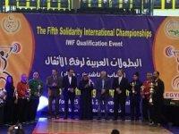 Halterde erkek ve kadın milli takımından 35 madalya