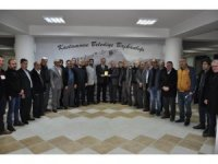 Esentepe Mahallesi Muhtarı Karandı'nda Belediye Başkanı Tahsin Babaş'a ziyaret