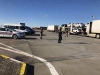 Şanlıurfa'da ağır yük taşıyan araçlar denetlendi