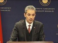 Dışişleri Bakanlığı'ndan Irak açıklaması