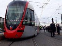 Cevizlibağ'da tramvay kazası