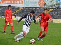 Nazilli Belediyespor ilk yarıyı 3 puanla kapattı