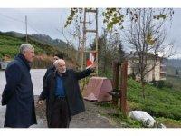 Başkan Sarıalioğlu, Serince Mahallesinde incelemelerde bulundu