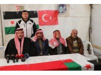 Suriyeli Abraz aşiretinden sınır ötesi operasyona destek