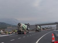 Beygircioğlu kavşağındaki üst geçidi trafiğe açıldı