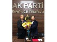 AK Parti Simav İlçe Başkanlığı'nda görev değişikliği
