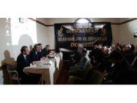 """""""Doğu Türkistan'dan Yemen'e İnsanlık Dramı"""" paneli"""