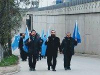 Doğu Türkistan için İstanbul'dan Ankara'ya yürüyorlar