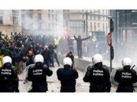 Belçika'daki eylemlerde 90 kişi gözaltına alındı